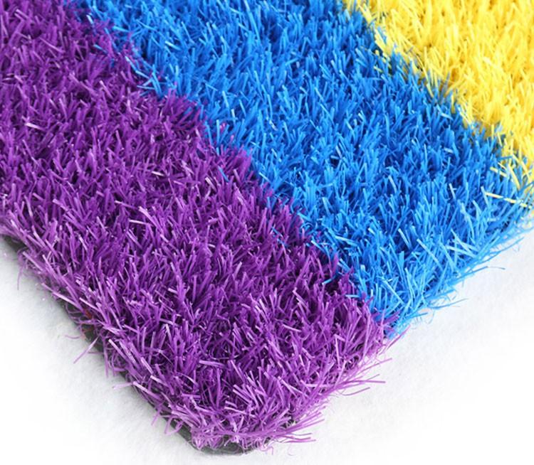 彩虹人造草